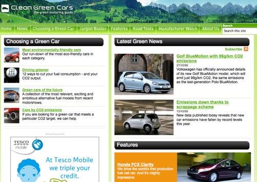Clean Green Cars
