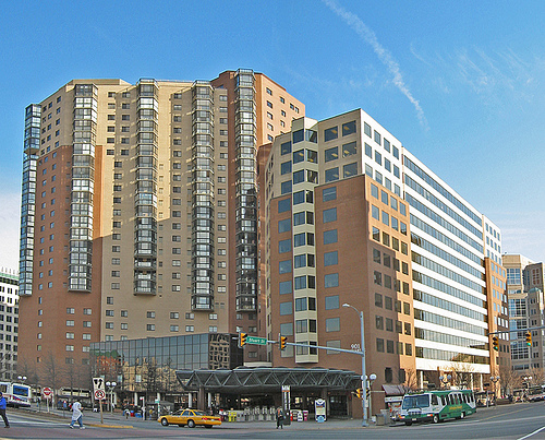 Transit-Oriented Development at Ballston Metro Station in Arlington. Photo by faceless b.