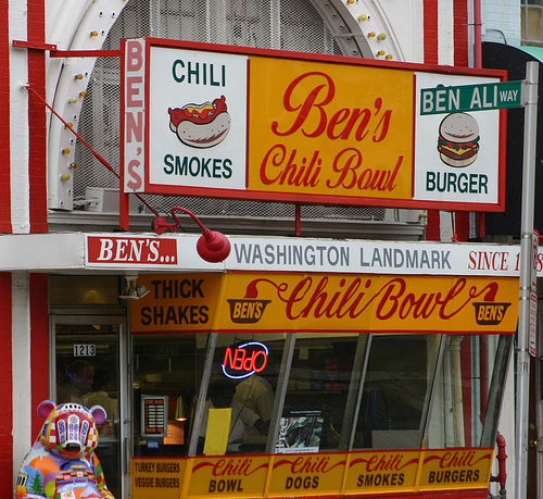 Ben's Chili Bowl on U Street. Photo by dbking.