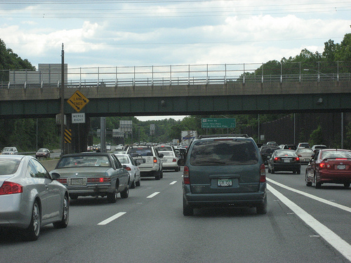 Beltway traffic. Flickr photo by derang0.