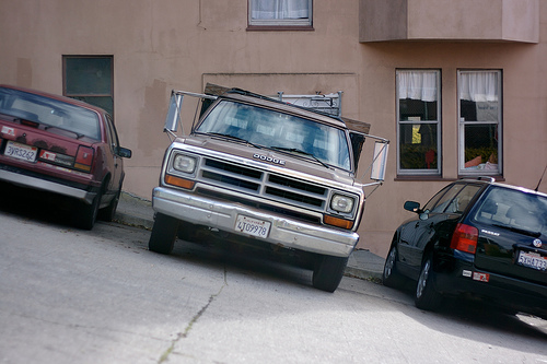 Parking in San Francisco - about to get even harder? Photo by Marcin Wichary.
