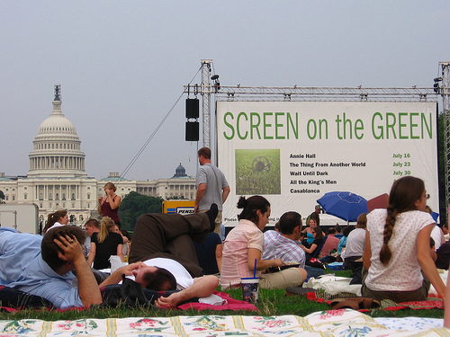 'm excited for Screen on the Green! Photo by voteprime.