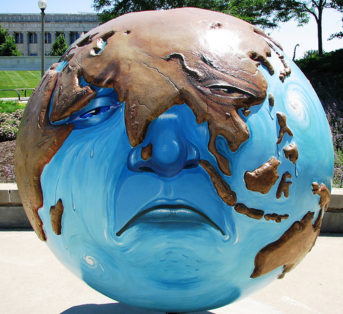 """Cool Globes"" - 2007 Chicago Art Displat. Flickr photo from JohnLeGear."