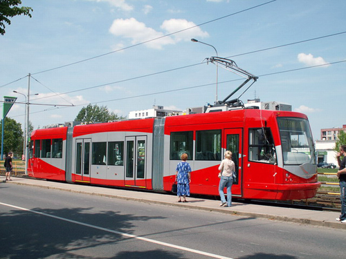 DC has already purchased three Streetcars that are currently being stored in the Czech Republic. Photo courtesy of DDOT.