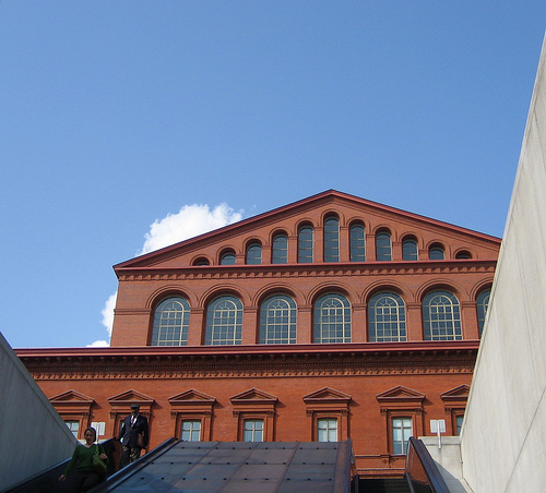 The National Building Museum. Flickr photo from giveawayboy.