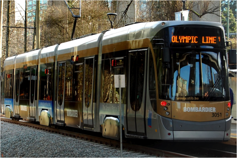 One positive legacy of the Vancouver Olympics may be the Olympic Line Streetcar, operating as a demonstration project in downtown. Photo by DianeWorth, flickr.