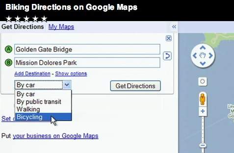Were so happy Google Maps now has directions for cyclists!