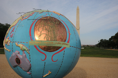 Earth Day comes to the National Mall. Photo by NASA Goddard Space Flight Center.