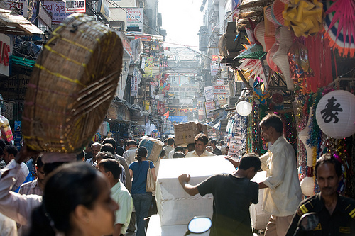 Open public spaces in Mumbai are feeling the squeeze. Photo by OneEighteen.