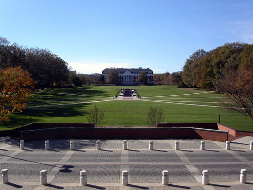 How would transit affect the heart of the University of Maryland's college campus? Photo by forklift.