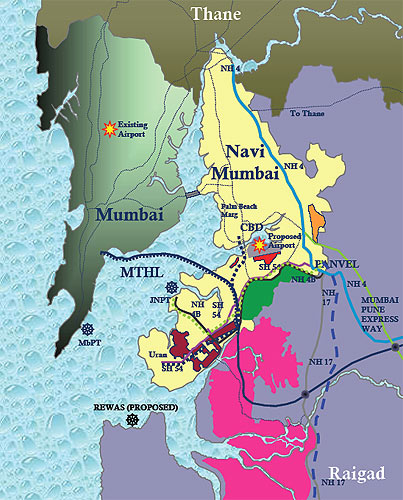 Map courtesy of Nagraj Sheth of the Institute of Technology.