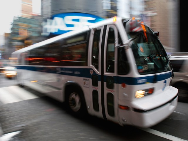 Select bus service in the Bronx has boosted ridership by 30%. Photo via dnainfo.com.
