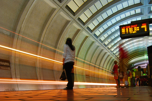 What online tools exist in the D.C. area to make transportation more efficient, user-friendly and sustainable? Photo by Dsade