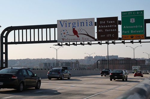 Will HOT lanes in Virginia curb rush hour traffic? Photo by Mr. T in DC.