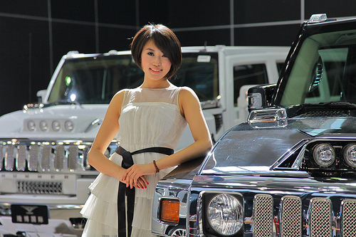 Car ownership is on the rise in China, where events like the Beijing Auto Show entice consumers to purchase personal vehicles. Photo by erinohara73.