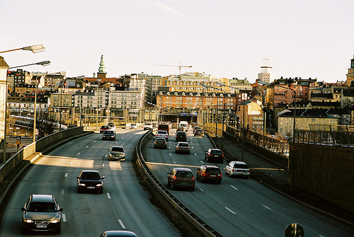 "Stockholm has the ""least painful"" commute, according to a new IBM study. Photo by zeraien."