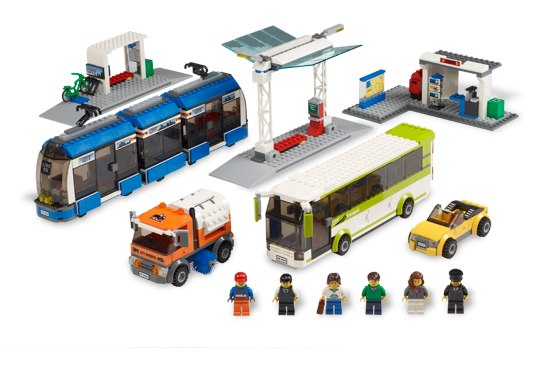 LEGO launches new toy set for transit geeks in the making. Photo via shop.lego.com.