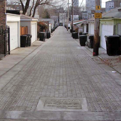An example of permeable pavers. Photo via Re-Nest.com