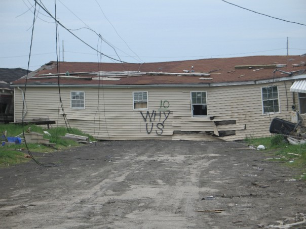 New Orleans after the storm in the spring of 2006. Photo by Jonna McKone
