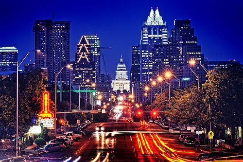 Austin, TX, is one of the cities that has benefitted from IBM's Smarter Cities initiative. Photo by John Rogers.