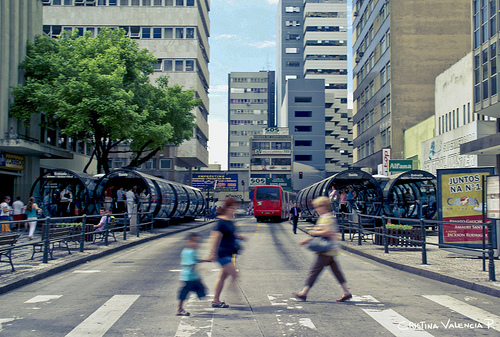 Although SIBRT is currently headquartered in Curitiba, Brazil, it hopes to provide useful data and best practices for cities in other regions of the world looking to implement or improve bus rapid transit systems. Photo by Cristina Valencia.