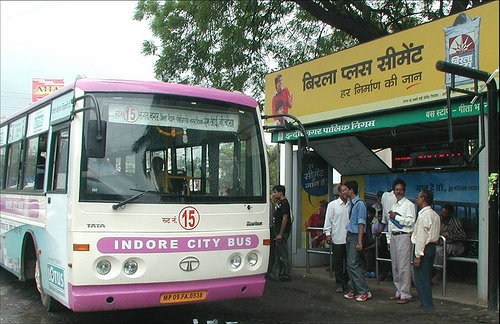 Indore's groundbreaking public-private partnership to improve transit is a model for rapidly growing Indian cities. Photo by EMBARQ.