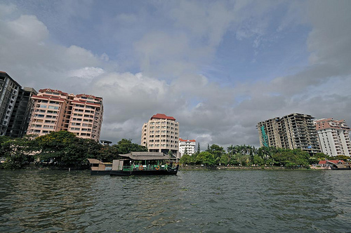 Kochi is slated to become one of the largest IT business parks in India. Photo by Koshy Koshy.