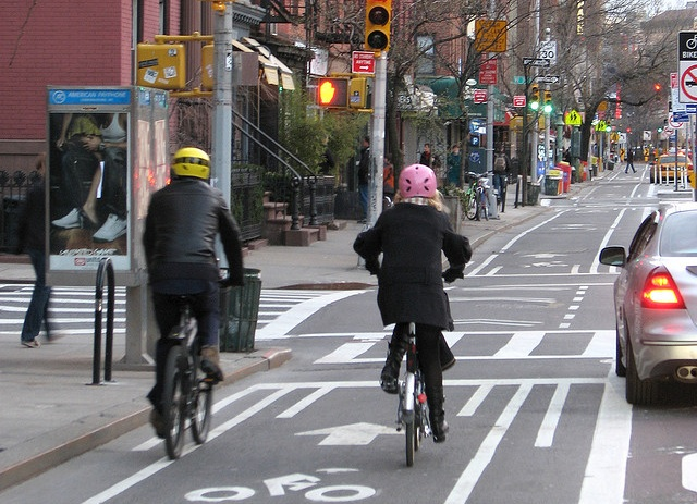 New York City's bike lanes bring mobility, economic vitality.