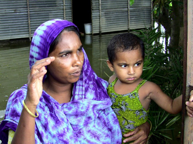 Family in Dhaka