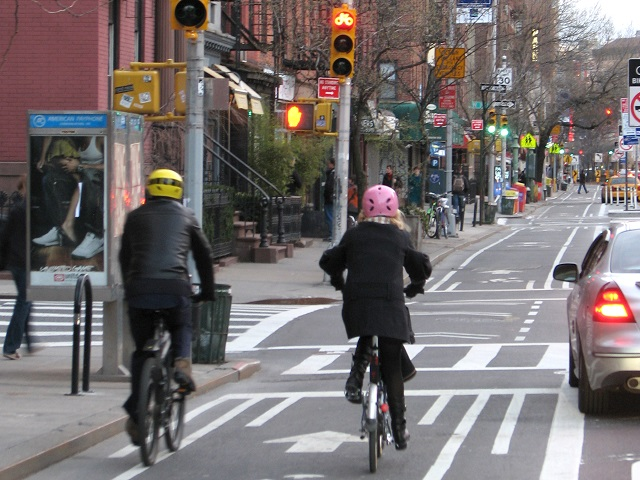 New York City complete street. Photo by Kyle Gradinger/Flickr.