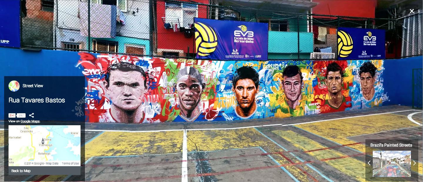 Rua Tavares Bastos, Rio de Janeiro, Brazil. Image courtesy Google Street View.