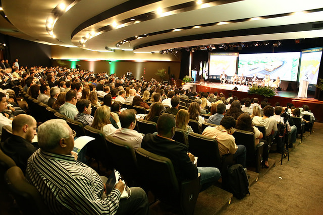 The NTU seminar, hosted in Brasilia, garnered significant attention as cities across the country face a critical moment in improving public transport. Photo by NTU/Flickr.