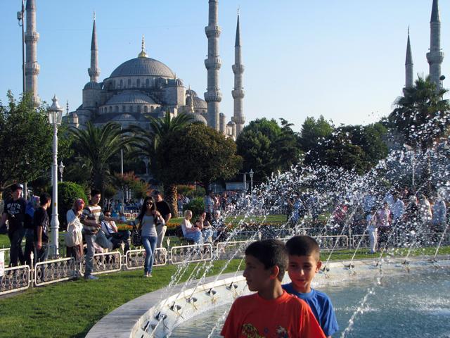 Hagia Sofia, Istanbul, Turkey. Photo by Tim Griffin/Flickr.