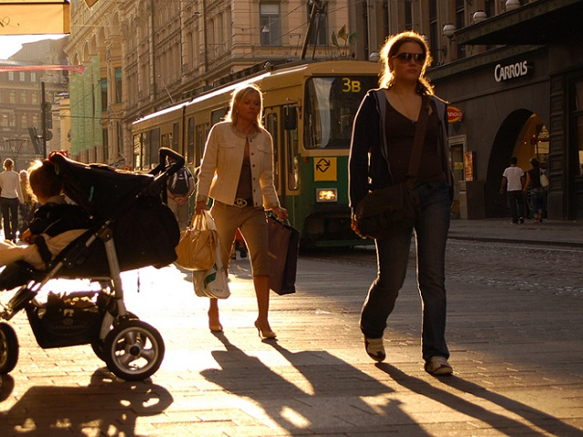 Helsinki, Finland announced ambitious plans to eliminate the need for cars by 2025, making it an ideal site to explore the range of possibilities for the future of sustainable urban mobility. Photo by Katri Niemi/Flickr.