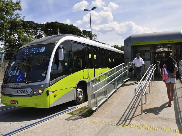 The MOVE bus rapid transit system was designed using international best practices. Photo by Mariana Gil/EMBARQ Brasil.