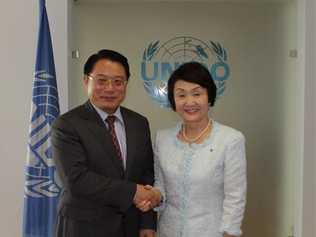 Mayor Fumiko Hayashi of Yokohama