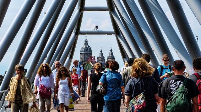Walkability in Amsterdam, Netherlands