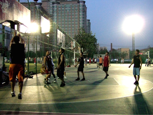 Beijing basketball courts
