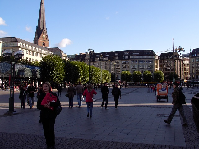 Walkability in Hamburg, Germany