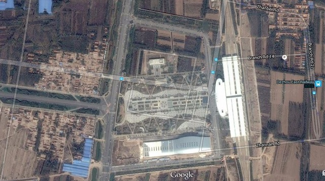 Dezhou, China HSR Station