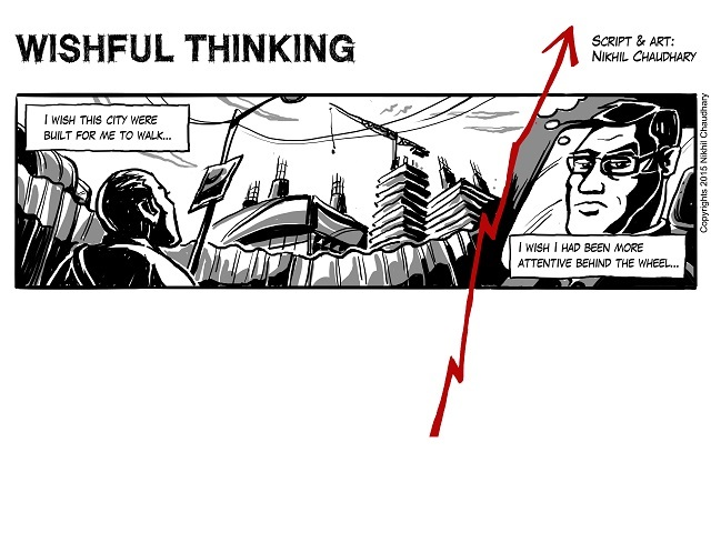 """Wishful Thinking"" Graphic Narrative Feature"