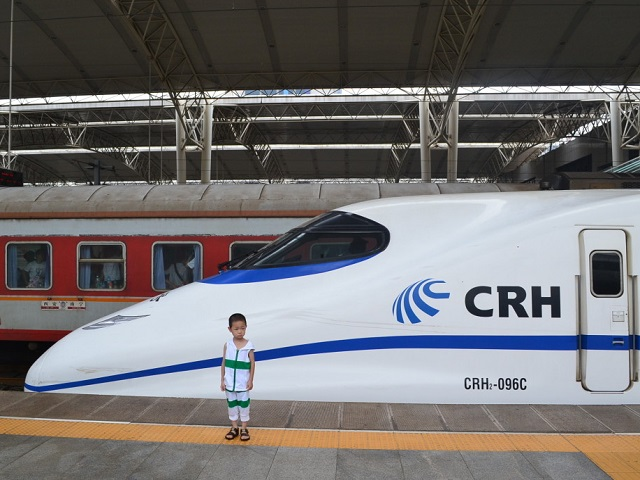 Zhengzhou, China HSR Station