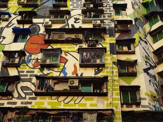 China Graffiti Street Art