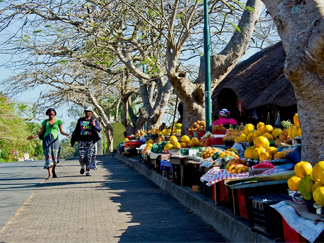 St. Lucia, South Africa Food Market