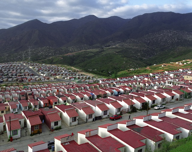 Sprawled Housing in Mexico