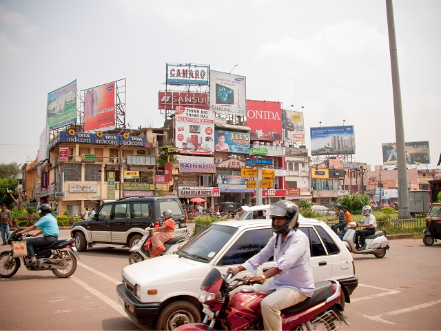 Streets of Bhubaneswar, India
